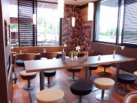 McDonald`s Restaurant