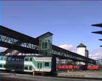 Bahnhof Mühldorf - Fahrkartenschalter